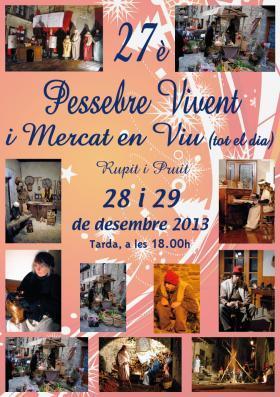 Pessebre Vivent Rupit 2013